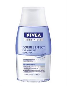 Nivea Visage Double Effect Vízálló Szemfestéklemosó