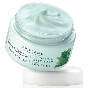 Oriflame Love Nature Arcápoló Lotion Teafával