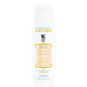 Alfaparf Precious Nature Shampoo With Almond & Pistachia For Colored Hair
