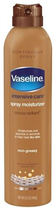 Vaseline Intensive Care Cocoa Radiant Spray Testápoló