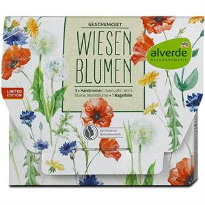 Alverde Wiesenblumen Kézkrém - Pipacs