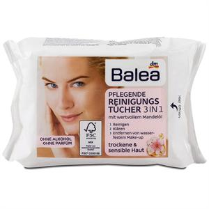 Balea Ápoló Arctisztító Kendő 3in1 Száraz és Érzékeny Bőrre