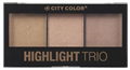 City Color Cosmetics Highlight Trio Highlighter Paletta