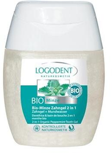 Logodent Bio Menta 2 az 1-ben Fogkrém és Szájvíz