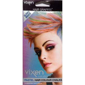 Vixen Pastel Hair Color Chalks