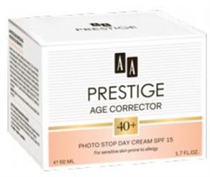 AA Prestige Age Corrector 40+ Photo Stop Nappali Krém SPF15