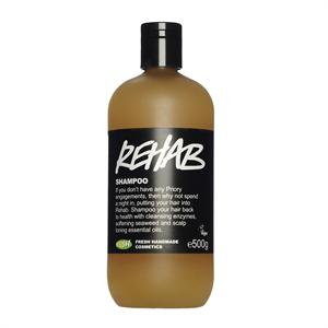 Lush Rehab Hajsampon