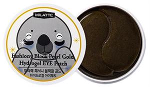 Milatte Fashony Black Pearl Gold Hydrogel Eye Patch