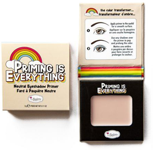 The Balm Priming Is Everything Szemhéjpúder Alap