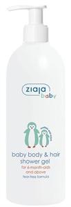 Ziaja Baby Hipoallergén Tusfürdő Testre és Hajra