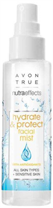 Avon True Nutra Effects Hydrate And Protect Hidratáló Arcpermet