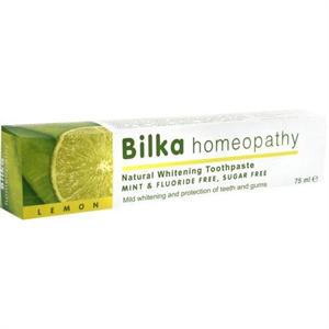 Bilka Homeopátiás Fehérítő Fogkrém Citrom Ízű