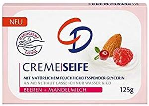 CD Bogyós Gyümölcs & Mandulatej Krémszappan