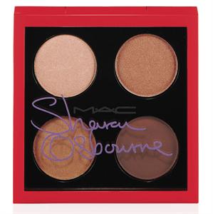 MAC Sharon Osbourne Duchess: Eye Shadow X4 Négyrészes Szemhéjpúder