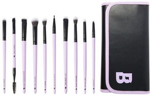Beautybay The Collection Eye Wonder 12 Piece Eye Brush Set With Brush Roll