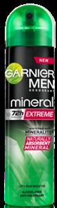 Garnier Mineral Men Extreme Deo Spray
