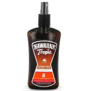 Hawaiian Tropic Spray Oil Protective 8