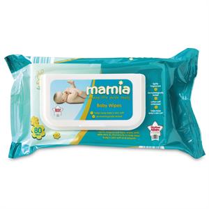Mamia Soft Baby Care Wipes Törlőkendő Classic
