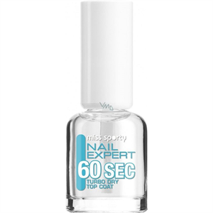 Miss Sporty Nail Expert 60 Sec Turbo Dry Top Coat