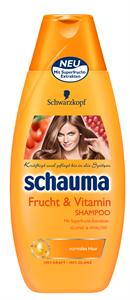Schauma Szupergyümölcs és Vitamin Sampon Normál Hajra