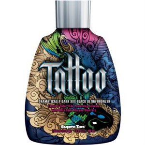 SupreTan Tattoo Dramatically Dark Xxx Black Ultra Bronzer Szoláriumkrém