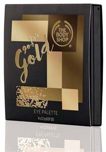 The Body Shop Go For Gold Szemhéjpúder Paletta
