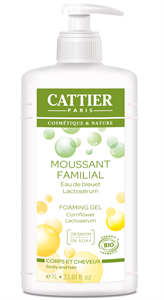 Cattier Bio Családi Tusfürdő és Sampon