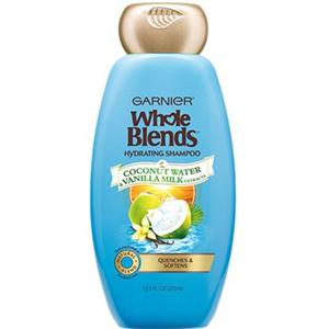 Garnier Whole Blends Hidratáló Sampon Kókuszvízzel és Vaníliás Tejjel