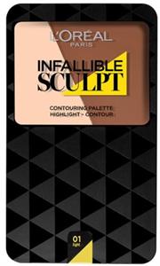 L'Oreal Paris Infallible Sculpt Contour Palette