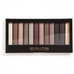 MakeUp Revolution Romantic Smoked Szemhéjpúder Paletta