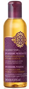The Body Shop Marokkói Argán&Narancs Fürdő/Tusoló Olaj