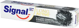Signal Long Active Nature Elements Charcoal White & Detox Fogkrém