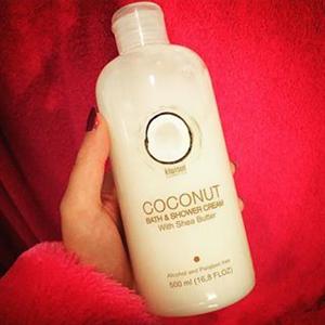KiwiSun Cosmetics Coconut Bath & Shower Cream with Shea Butter