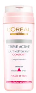 L'Oreal Triple Active Komfort Arclemosó Tej