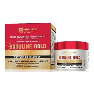 Mincer Botuline Gold Éjszakai Relaxáló Krém-Maszk