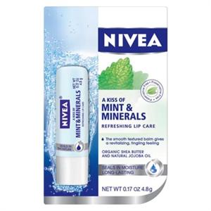 Nivea A Kiss Of Mint And Minerals Ajakápoló
