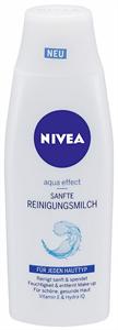 Nivea Aqua Effect Frissítő Arctisztító Tej Normál és Vegyes Bőrre