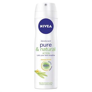 Nivea Pure & Natural Action Jasmine Deo Spray