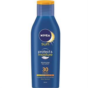 Nivea Sun Protect & Moisture Napozókrém