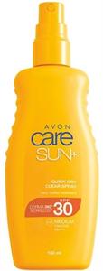 Avon Care Sun+ Vízálló, Áttetsző Napvédő Spray SPF30