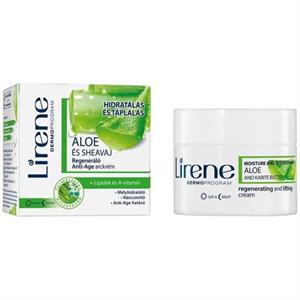 Lirene Aloe és Sheavaj Regeneráló Anti-Age Arckrém