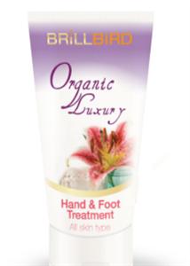 BrillBird Organic Luxury Kéz- és Lábápoló Krém