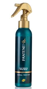 Pantene Pro-V Heat Defense Gloss Spray Normál, Vastagszálú Hajra.