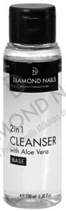 Diamond Nails 2in1 Gél Fixáló Aloe Vera Kivonattal