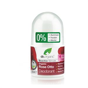 dr. Organic Alumíniummentes Dezodor Bioaktív Damaszkuszi Rózsaolajjal