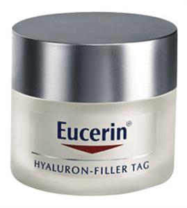 Eucerin Hyaluron-Filler Ráncfeltöltő Nappali Krém Száraz Bőrre