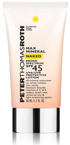 Peter Thomas Roth Max Mineral Naked Broad Spectrum SPF45 Lotion