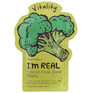 Tonymoly I'm Real Broccoli Mask Sheet Vitality