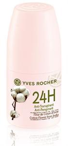 Yves Rocher Golyós Dezodor Indiai Gyapotvirág