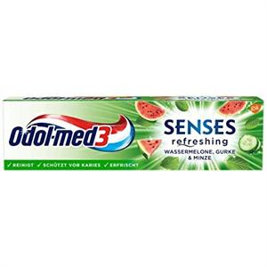 Odol-med 3 Senses Fogkrém Dinnye-Uborka-Menta